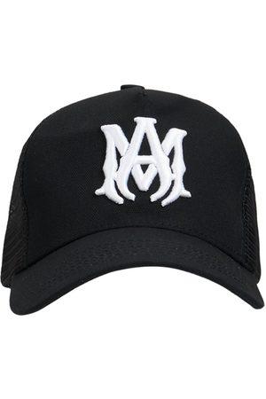 AMIRI Men Hats - Ma Logo Cotton Canvas Trucker Cap