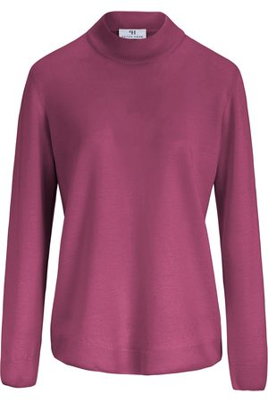 Peter Hahn Women Jumpers - Jumper in 100% new milled wool pale size: 10