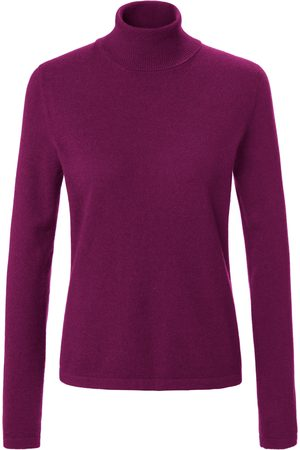 Peter Hahn Polo neck jumper in 100% cashmere design Roxy bright size: 10