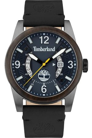 Timberland Ferndale Mens Watch With Leather Strap And Blue Dial