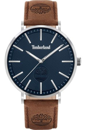 Timberland Men Watches - Kinsley Mens Watch With Leather Strap And Blue Dial