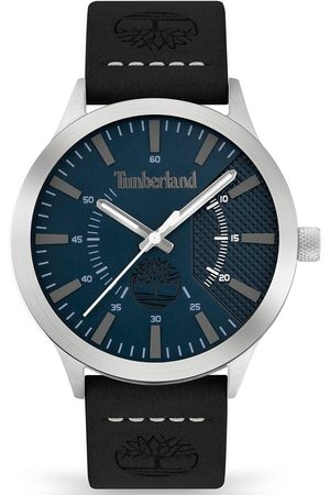 Timberland Hempstead Mens Watch With Leather Strap And Blue Dial