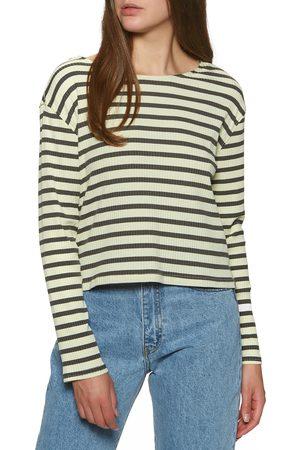 Hurley Women Tops - Easy s Long Sleeve T-Shirt - Vintage Stripe