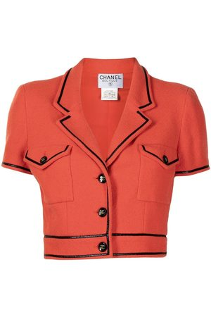 CHANEL Women Blazers - 1995 CC buttons cropped jacket