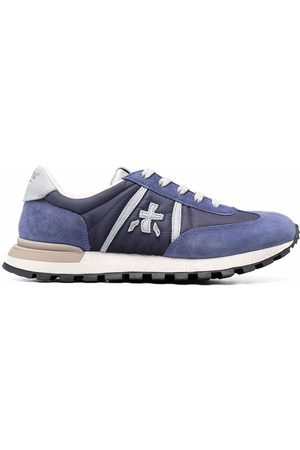 Premiata Panelled lace-up trainers