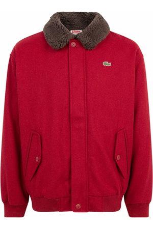 Supreme X Lacoste wool bomber jacket