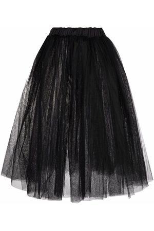 Alchemy Full-shape tulle midi skirt