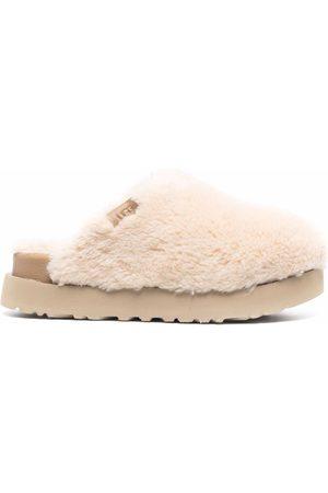 UGG Platform shearling slippers - Neutrals