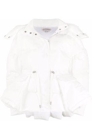 Alexander McQueen Drawstring-waist padded jacket