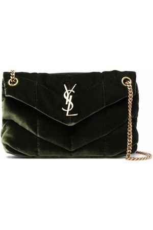 Saint Laurent Puffer small quilted bag
