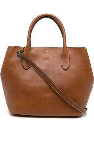 Polo Ralph Lauren Medium Bellport leather tote bag