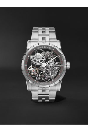 ROGER DUBUIS Excalibur Automatic Skeleton 42mm Stainless Steel Watch, Ref. No. EX0793