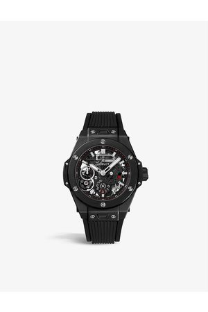 HUBLOT 414.CI.1123.RX Big Bang MECA-10 ceramic automatic watch