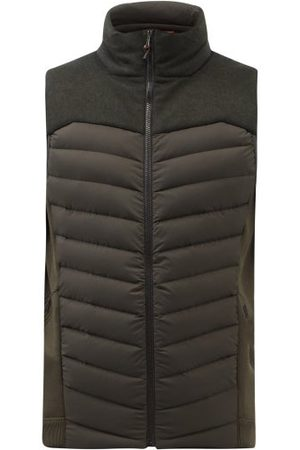 Sease Men Body Warmers - Warmer Quilted-down Gilet - Mens - Green