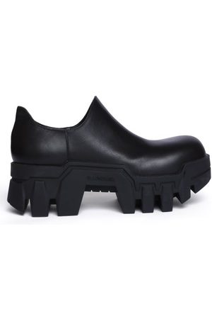 Balenciaga Women Platforms - Bulldozer Platform Leather Shoes - Womens