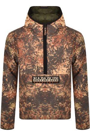 Napapijri Taika Fall Half Zip Camo Jacket