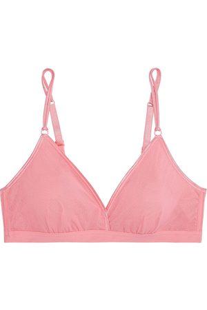 Cosabella Women Bras - Woman Soire Confidence Tulle Soft-cup Triangle Bra Bubblegum Size L