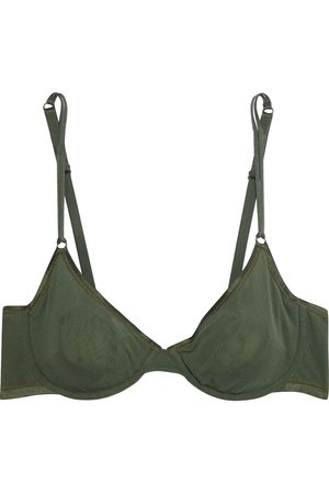 Cosabella Woman Soire Confidence Tulle Underwired Bra Army Size 32 B