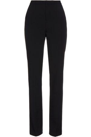 L'Agence Woman Tyra Crepe Slim-leg Pants Size 0