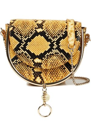 See by Chloé See By Chloé Woman Snake-effect Leather Shoulder Bag Animal Print Size