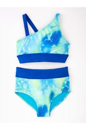 Nike Girls Rainbow Cloud Dye 2Pc Swim Set