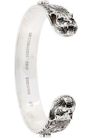 Gucci Men Bracelets - Feline bracelet - Metallic