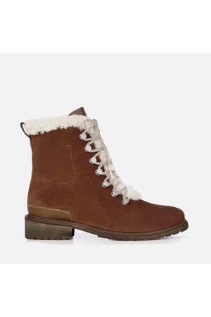 Emu Women Ankle Boots - Women's Billington Waterproof Suede Lace Up Boots
