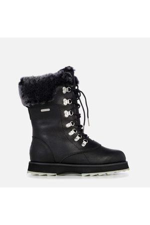 Emu Women Boots - Women's Sharky Comoro Waterproof Leather/Sheepskin Boots