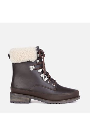 Emu Women Lace-up Boots - Women's Okab Waterproof Leather Lace Up Boots
