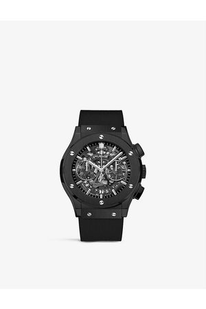 HUBLOT Men Watches - 525.CM.0170.RX Classic Fusion ceramic and rubber automatic watch