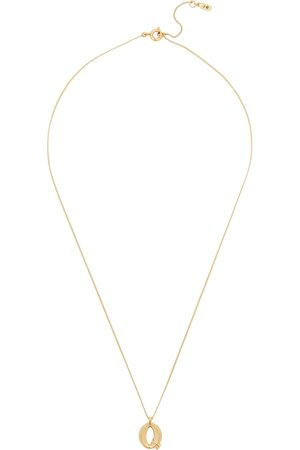 Jenny Bird Q Initial 14kt -dipped Necklace