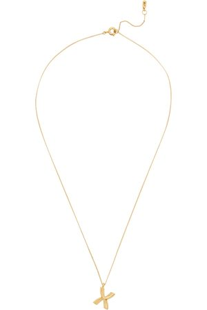 Jenny X Initial 14kt -dipped Necklace