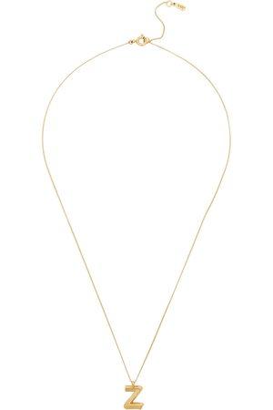 Jenny Z Initial 14kt -dipped Necklace