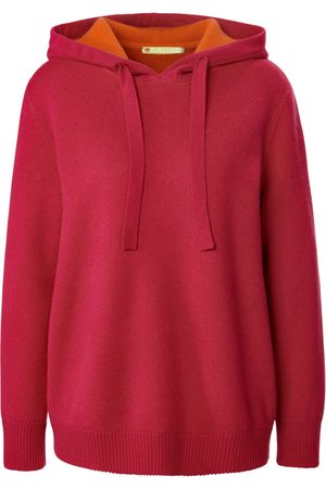 FLUFFY EARS Women Jumpers - Jumper in milled wool and cashmere bright size: 10