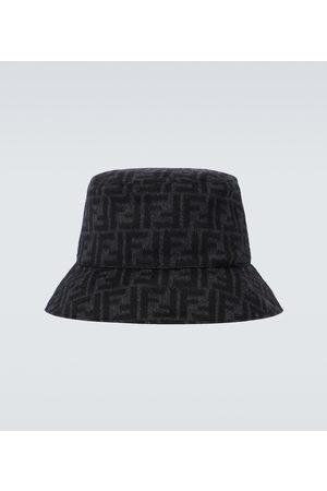Fendi FF wool bucket hat