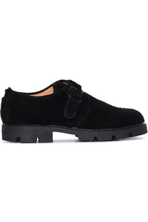 Maison Margiela Clog-style suede monk shoes