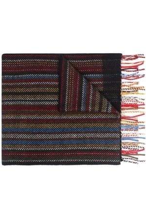 Paul Smith Houndstooth-effect scarf