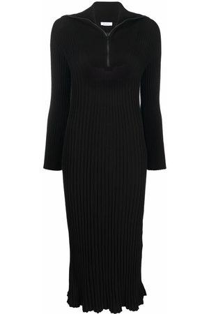 Rodebjer Leonie ribbed-knit midi dress