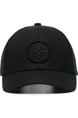 Stone Island Compass-logo cotton baseball cap