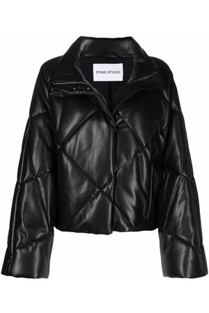 Stand Studio Quilted-finish puffer jacket