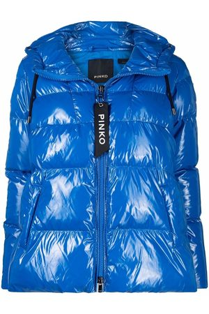 Pinko High-shine puffer jacket