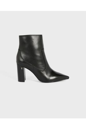 Ted Baker Women Ankle Boots - Leather Block Heel Ankle Boot