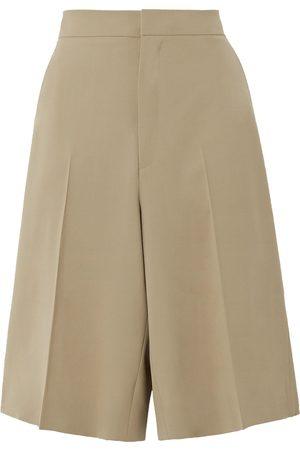 Gauchere Women Shorts - Woman Praline Wool-blend Shorts Size 34