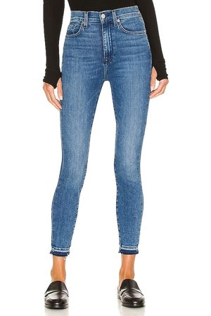 7 for all Mankind High Waist Ankle Skinny Let Down in . Size 29, 25, 24, 26, 30, 27, 28.