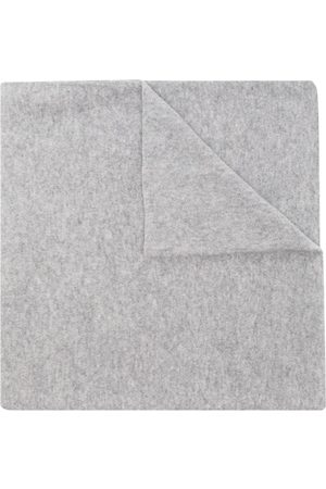 Johnstons Of Elgin Two-tone cashmere scarf