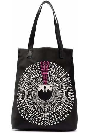 Pinko Logo-print tote bag