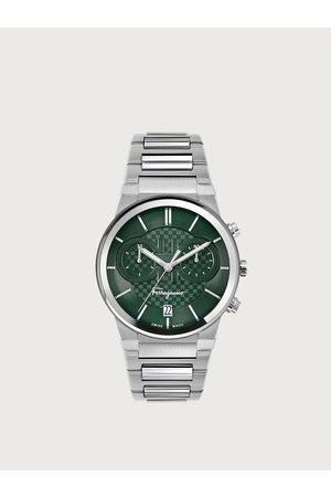 Salvatore Ferragamo Men Watches - Men Ferragamo Sapphire Chrono watch