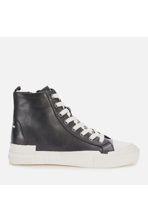 Ash Women Tops - Women's Ghibly Bis Leather Hi-Top Trainers