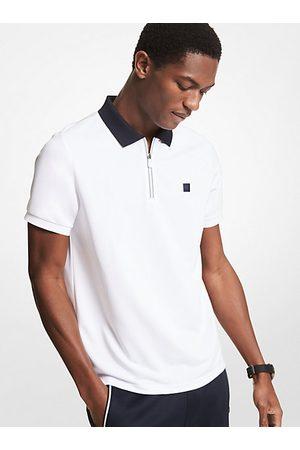 Michael Kors Men Polo Shirts - MK Half-Zip Polo Shirt - - Michael Kors