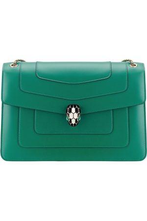 Bvlgari Women Handbags - Leather Serpenti Forever Shoulder Bag